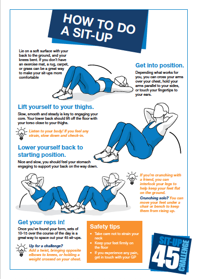How to do a sit-up